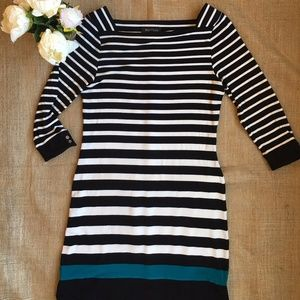Banana Republic Striped Jersey in Women Dress